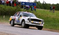 Rally Liepāja ātrumposmos par uzvaru cīnās arī historic sport ekipāžas
