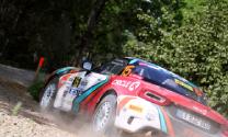 Olivers Solbergs ātrākais Rally Liepāja kvalifikācijas ātrumposmā